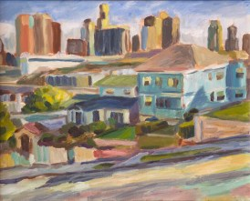 Echo Park Vantage. 16x20 inches. Acrylic on canvas. 2015